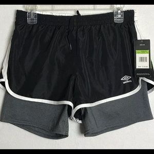 Umbro Compression Lined Athletic Soccer Shorts